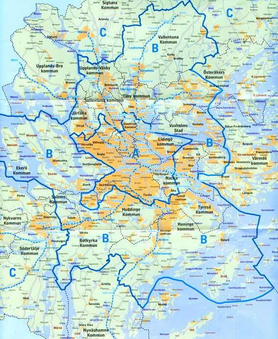 förorter stockholm karta Svensk historia   Stockholm 3 förorter stockholm karta